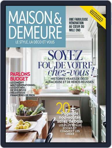 Maison & Demeure May 24th, 2019 Digital Back Issue Cover