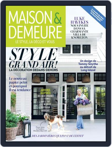 Maison & Demeure (Digital) May 1st, 2019 Issue Cover