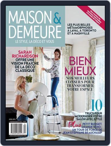 Maison & Demeure (Digital) April 1st, 2019 Issue Cover