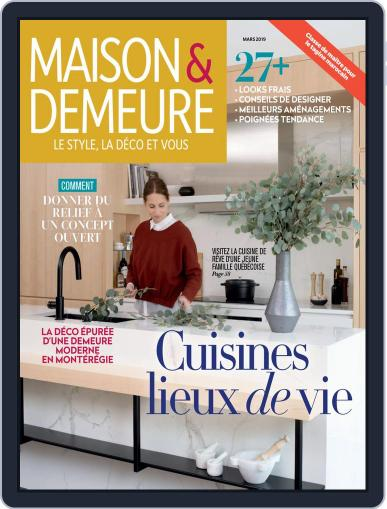 Maison & Demeure (Digital) March 1st, 2019 Issue Cover