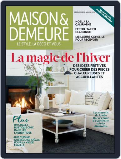 Maison & Demeure December 1st, 2018 Digital Back Issue Cover