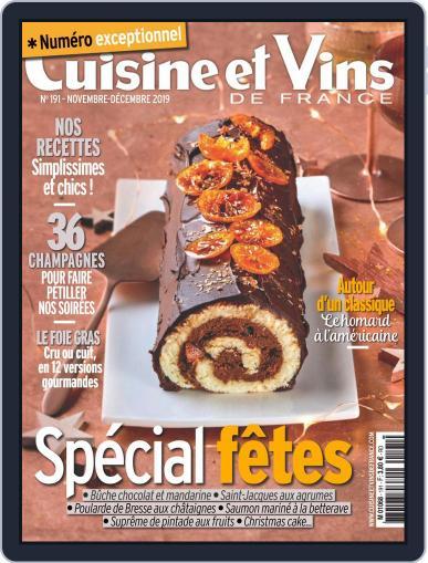 Cuisine Et Vins De France (Digital) November 1st, 2019 Issue Cover