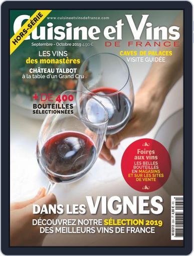 Cuisine Et Vins De France (Digital) September 1st, 2019 Issue Cover