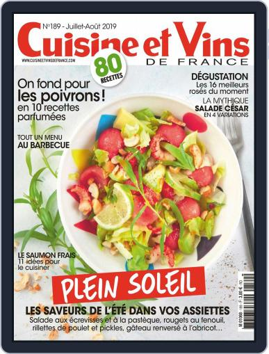 Cuisine Et Vins De France (Digital) July 1st, 2019 Issue Cover