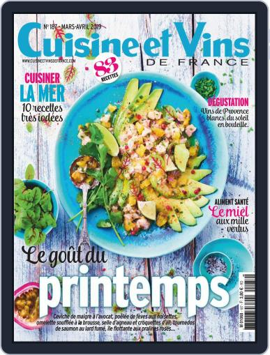 Cuisine Et Vins De France (Digital) March 1st, 2019 Issue Cover