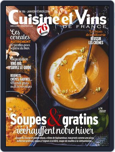 Cuisine Et Vins De France (Digital) January 1st, 2019 Issue Cover