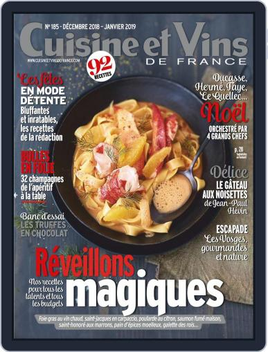 Cuisine Et Vins De France (Digital) December 1st, 2018 Issue Cover