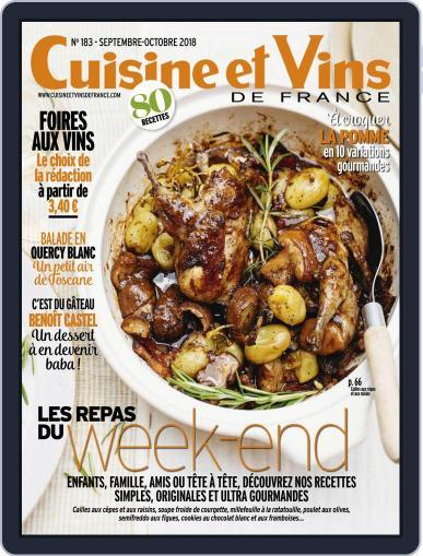 Cuisine Et Vins De France (Digital) September 1st, 2018 Issue Cover