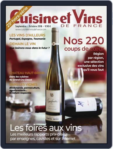 Cuisine Et Vins De France (Digital) August 1st, 2018 Issue Cover