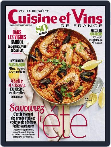 Cuisine Et Vins De France (Digital) June 1st, 2018 Issue Cover