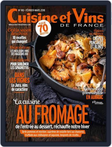 Cuisine Et Vins De France (Digital) February 1st, 2018 Issue Cover