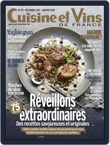 Cuisine Et Vins De France (Digital) December 1st, 2017 Issue Cover