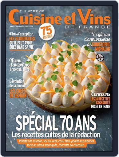 Cuisine Et Vins De France (Digital) November 1st, 2017 Issue Cover