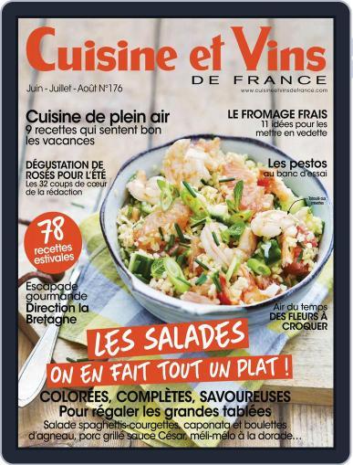Cuisine Et Vins De France (Digital) June 1st, 2017 Issue Cover