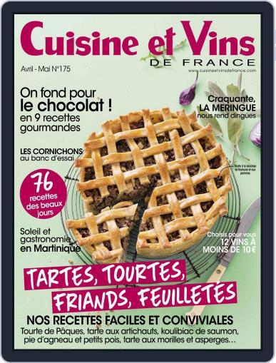 Cuisine Et Vins De France (Digital) April 1st, 2017 Issue Cover