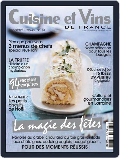 Cuisine Et Vins De France (Digital) December 1st, 2016 Issue Cover