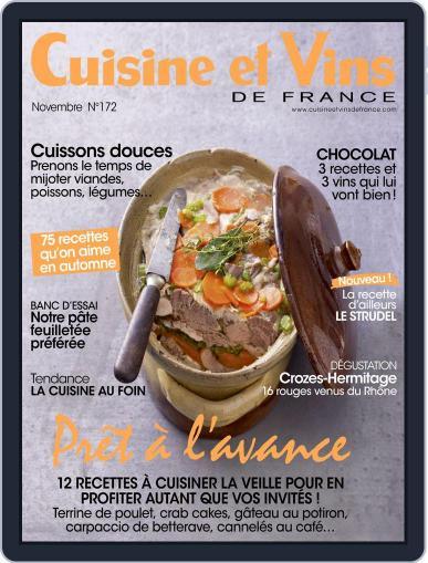 Cuisine Et Vins De France (Digital) November 1st, 2016 Issue Cover