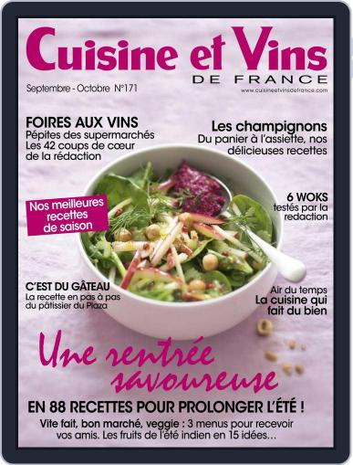Cuisine Et Vins De France (Digital) September 1st, 2016 Issue Cover