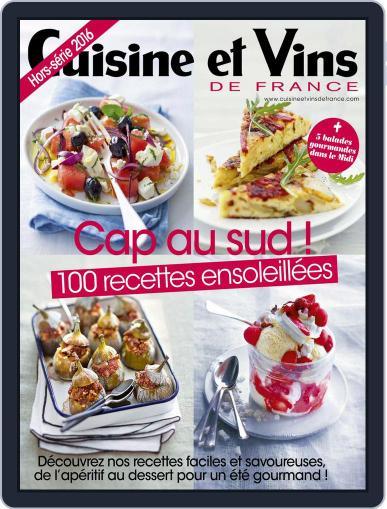 Cuisine Et Vins De France (Digital) June 30th, 2016 Issue Cover