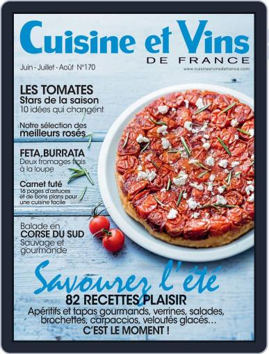 Cuisine Et Vins De France (Digital) May 26th, 2016 Issue Cover