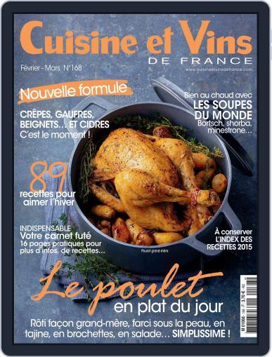 Cuisine Et Vins De France (Digital) January 14th, 2016 Issue Cover