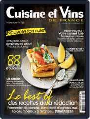 Cuisine Et Vins De France (Digital) Subscription November 1st, 2015 Issue