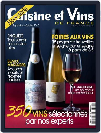 Cuisine Et Vins De France (Digital) August 31st, 2015 Issue Cover