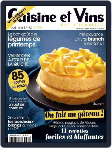 Cuisine Et Vins De France (Digital) March 18th, 2015 Issue Cover