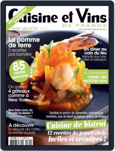 Cuisine Et Vins De France (Digital) January 22nd, 2015 Issue Cover