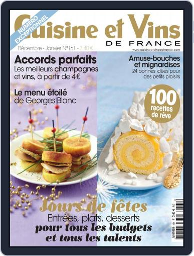 Cuisine Et Vins De France (Digital) November 12th, 2014 Issue Cover