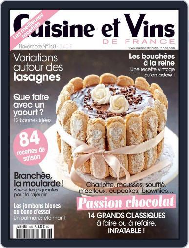 Cuisine Et Vins De France (Digital) October 13th, 2014 Issue Cover
