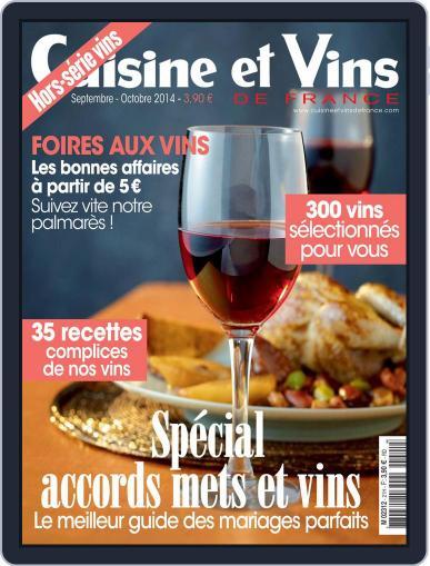 Cuisine Et Vins De France (Digital) August 26th, 2014 Issue Cover