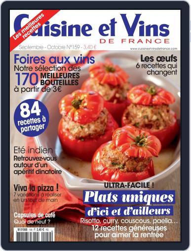Cuisine Et Vins De France (Digital) August 19th, 2014 Issue Cover