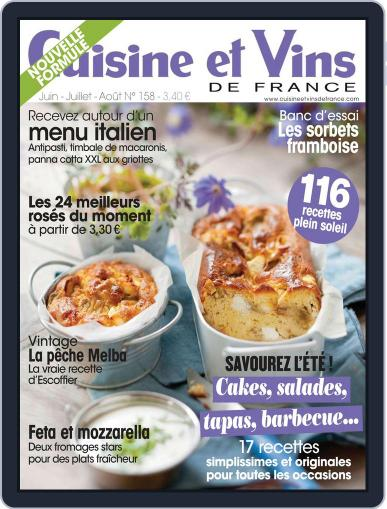 Cuisine Et Vins De France (Digital) May 27th, 2014 Issue Cover