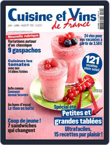 Cuisine Et Vins De France (Digital) May 29th, 2013 Issue Cover
