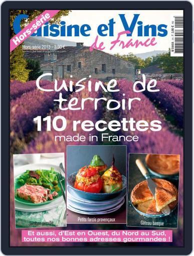 Cuisine Et Vins De France (Digital) April 16th, 2013 Issue Cover