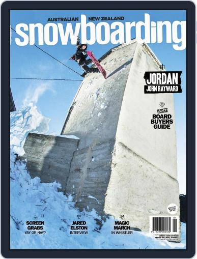 Australian NZ Snowboarding (Digital) June 1st, 2017 Issue Cover