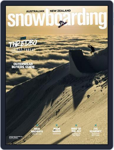 Australian NZ Snowboarding (Digital) February 1st, 2017 Issue Cover