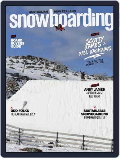 Australian NZ Snowboarding (Digital) January 1st, 2017 Issue Cover