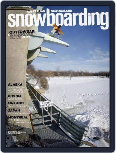 Australian NZ Snowboarding (Digital) July 26th, 2015 Issue Cover