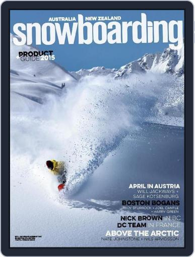 Australian NZ Snowboarding (Digital) May 29th, 2015 Issue Cover