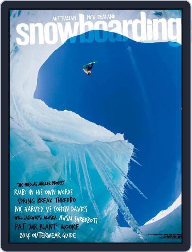 Australian NZ Snowboarding (Digital) February 27th, 2015 Issue Cover