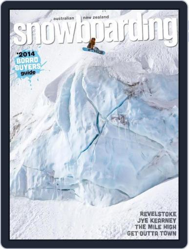Australian NZ Snowboarding (Digital) May 25th, 2014 Issue Cover