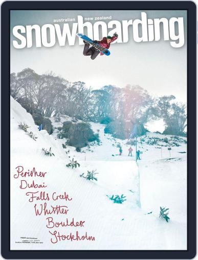 Australian NZ Snowboarding (Digital) August 11th, 2013 Issue Cover