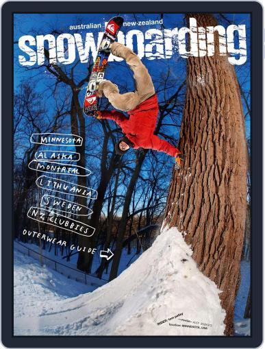 Australian NZ Snowboarding (Digital) June 30th, 2013 Issue Cover