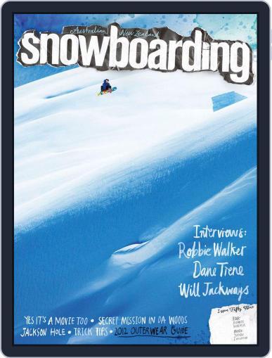 Australian NZ Snowboarding (Digital) June 5th, 2013 Issue Cover