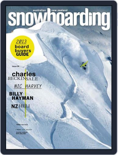Australian NZ Snowboarding (Digital) May 31st, 2013 Issue Cover
