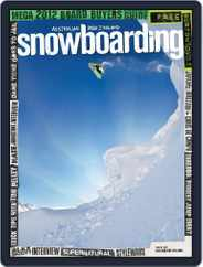 Australian NZ Snowboarding (Digital) Subscription June 12th, 2012 Issue