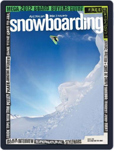 Australian NZ Snowboarding (Digital) June 12th, 2012 Issue Cover