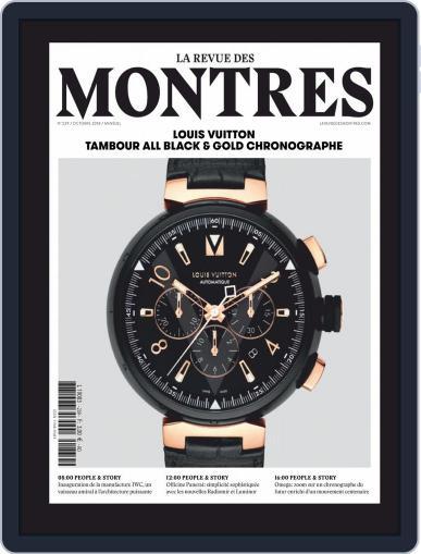 La revue des Montres (Digital) October 1st, 2018 Issue Cover